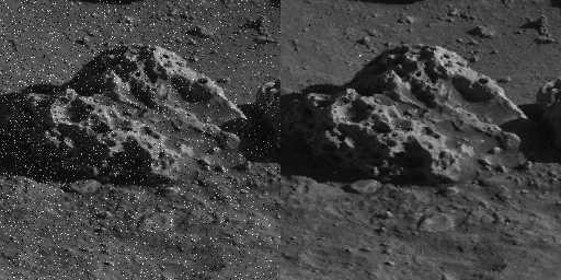 Mars: parasits removal
